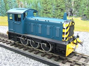 Bachmann Brassworks SanCheng O Gauge 04 Blue Diesel 0-6-0 Shunter Loco Electric 2 Rail Boxed image 4