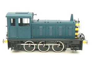 Bachmann Brassworks SanCheng O Gauge 04 Blue Diesel 0-6-0 Shunter Loco Electric 2 Rail Boxed image 5
