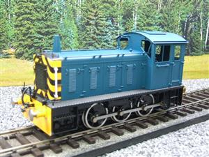 Bachmann Brassworks SanCheng O Gauge 04 Blue Diesel 0-6-0 Shunter Loco Electric 2 Rail Boxed image 10
