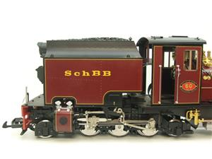 "Gauge 1 Aster/LGB NGG13 No.60 Schbb ""Beyer Garratt"" 20922 Digital Steam Locomotive image 5"