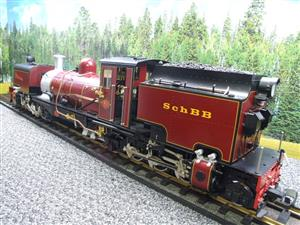 "Gauge 1 Aster/LGB NGG13 No.60 Schbb ""Beyer Garratt"" 20922 Digital Steam Locomotive image 7"