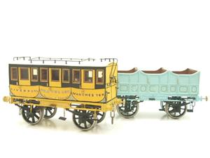 Gauge 1 Aster Style The Wagon & Carriage Works Period Style 1st & 2nd Class Coaches Set image 1
