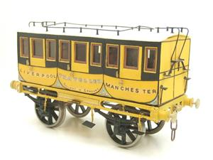 Gauge 1 Aster Style The Wagon & Carriage Works Period Style 1st & 2nd Class Coaches Set image 3