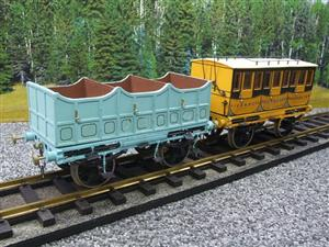 Gauge 1 Aster Style The Wagon & Carriage Works Period Style 1st & 2nd Class Coaches Set image 4