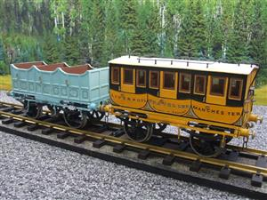 Gauge 1 Aster Style The Wagon & Carriage Works Period Style 1st & 2nd Class Coaches Set image 8