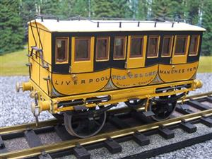 Gauge 1 Aster Style The Wagon & Carriage Works Period Style 1st & 2nd Class Coaches Set image 9
