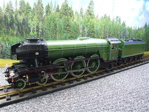 "Gauge 1 Accucraft S32-4 LNER A3 ""Flying Scotsman"" R/N 4472 Gas Fired Live Steam R/Controlled Bxd image 3"