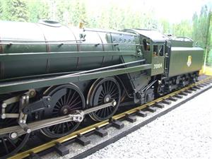 "Gauge 1 G1MC Aster BR Britannia 4-6-2 Standard Class 7 ""William Shakespeare"" RN 70004 Live Steam image 9"