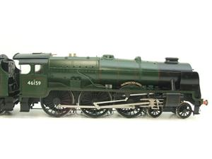 "Gauge 1 Fine Scale Brass BR Royal Scot Class ""The Royal Air Force"" R/N 46159 Electric 2 Rail image 4"
