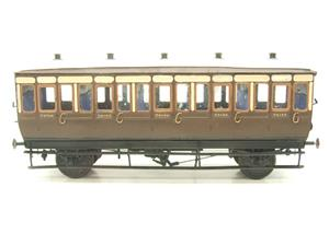 Mallard Models Brass O Gauge Fine Scale GWR All 3rd Passenger Coach Boxed image 5