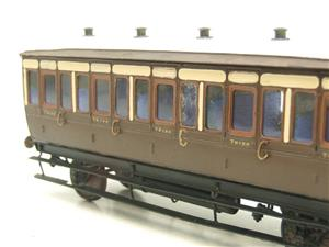 Mallard Models Brass O Gauge Fine Scale GWR All 3rd Passenger Coach Boxed image 8