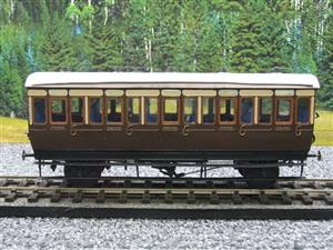 Mallard Models Brass O Gauge Fine Scale GWR All 3rd Passenger Coach Boxed image 9