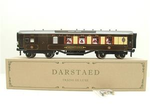 "Darstaed O Gauge Golden Arrow Parlour Brake 3rd ""Montana"" Grey Roof Pullman Coach 2/3 Rail Bxd image 1"