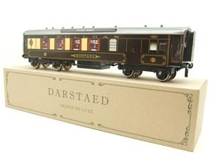 "Darstaed O Gauge Golden Arrow Parlour Brake 3rd ""Montana"" Grey Roof Pullman Coach 2/3 Rail Bxd image 3"
