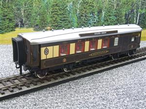 "Darstaed O Gauge Golden Arrow Parlour Brake 3rd ""Montana"" Grey Roof Pullman Coach 2/3 Rail Bxd image 4"