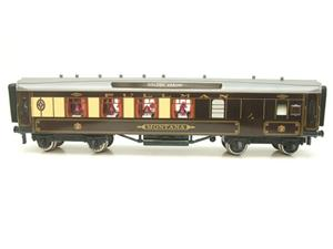 "Darstaed O Gauge Golden Arrow Parlour Brake 3rd ""Montana"" Grey Roof Pullman Coach 2/3 Rail Bxd image 5"
