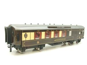 "Darstaed O Gauge Golden Arrow Parlour Brake 3rd ""Montana"" Grey Roof Pullman Coach 2/3 Rail Bxd image 7"