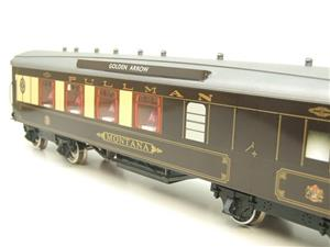 "Darstaed O Gauge Golden Arrow Parlour Brake 3rd ""Montana"" Grey Roof Pullman Coach 2/3 Rail Bxd image 8"