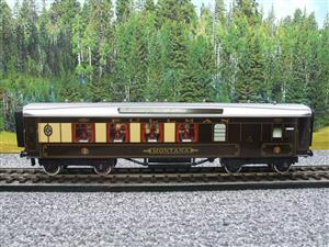 "Darstaed O Gauge Golden Arrow Parlour Brake 3rd ""Montana"" Grey Roof Pullman Coach 2/3 Rail Bxd image 9"