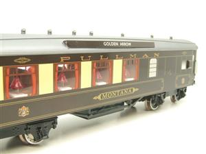 "Darstaed O Gauge Golden Arrow Parlour Brake 3rd ""Montana"" Grey Roof Pullman Coach 2/3 Rail Bxd image 10"