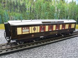 "Darstaed O Gauge Golden Arrow Kitchen 1st ""Lydia"" Grey Roof Pullman Coach 2/3 Rail Bxd image 4"