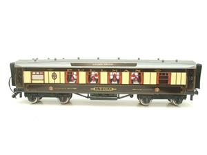 "Darstaed O Gauge Golden Arrow Kitchen 1st ""Lydia"" Grey Roof Pullman Coach 2/3 Rail Bxd image 5"