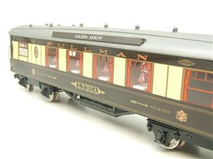 "Darstaed O Gauge Golden Arrow Kitchen 1st ""Lydia"" Grey Roof Pullman Coach 2/3 Rail Bxd image 8"