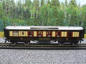 "Darstaed O Gauge Golden Arrow Kitchen 1st ""Lydia"" Grey Roof Pullman Coach 2/3 Rail Bxd image 9"