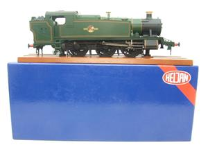 Heljan O Gauge Item 6123 BR Green Late Crest Class 61xx Large Prairie Tank Loco Un Numbered Electric image 1
