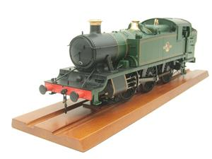 Heljan O Gauge Item 6123 BR Green Late Crest Class 61xx Large Prairie Tank Loco Un Numbered Electric image 2