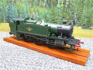 Heljan O Gauge Item 6123 BR Green Late Crest Class 61xx Large Prairie Tank Loco Un Numbered Electric image 3