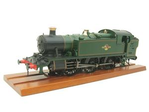 Heljan O Gauge Item 6123 BR Green Late Crest Class 61xx Large Prairie Tank Loco Un Numbered Electric image 4