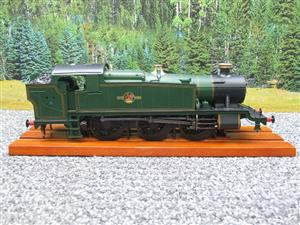 Heljan O Gauge Item 6123 BR Green Late Crest Class 61xx Large Prairie Tank Loco Un Numbered Electric image 5