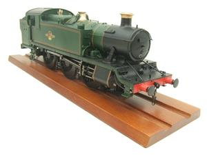 Heljan O Gauge Item 6123 BR Green Late Crest Class 61xx Large Prairie Tank Loco Un Numbered Electric image 6