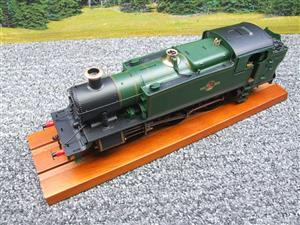 Heljan O Gauge Item 6123 BR Green Late Crest Class 61xx Large Prairie Tank Loco Un Numbered Electric image 7