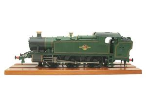 Heljan O Gauge Item 6123 BR Green Late Crest Class 61xx Large Prairie Tank Loco Un Numbered Electric image 9