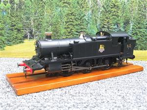 Heljan O Gauge Item 6125 BR Green Early Crest Class 61xx Large Prairie Tank Loco R/N 4144 Electric image 3