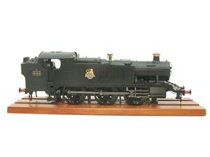 Heljan O Gauge Item 6125 BR Green Early Crest Class 61xx Large Prairie Tank Loco R/N 4144 Electric image 5