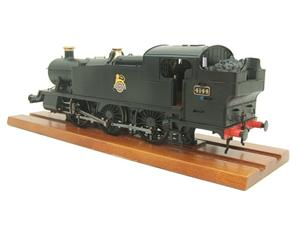 Heljan O Gauge Item 6125 BR Green Early Crest Class 61xx Large Prairie Tank Loco R/N 4144 Electric image 7