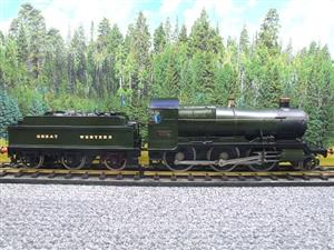 "Gauge 1 Brass Finescale GWR ""Mogul"" 2-6-0 Loco & Tender R/N 4358 Electric 2 Rail image 1"