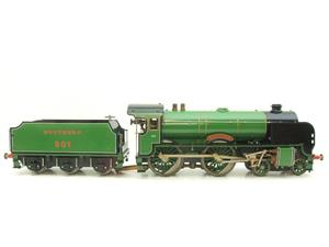 "Gauge 1 Aster SR Southern 4-4-0 Schools Class ""Winchester"" R/N 901 Live Steam image 1"