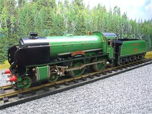 "Gauge 1 Aster SR Southern 4-4-0 Schools Class ""Winchester"" R/N 901 Live Steam image 7"