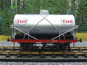 "Gauge 1 Model Co Accucraft  R32-3D-14-Ton Oil ""Esso Tanker Wagon"" image 1"