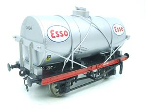 "Gauge 1 Model Co Accucraft  R32-3D-14-Ton Oil ""Esso Tanker Wagon"" image 4"
