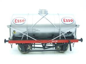 "Gauge 1 Model Co Accucraft  R32-3D-14-Ton Oil ""Esso Tanker Wagon"" image 9"