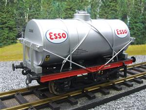 "Gauge 1 Model Co Accucraft  R32-3D-14-Ton Oil ""Esso Tanker Wagon"" image 10"