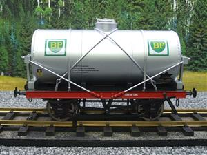 "Gauge 1 Model Co Accucraft R32-3C-14-Ton Oil """"BP Tanker Wagon"" R/N 3472 image 1"