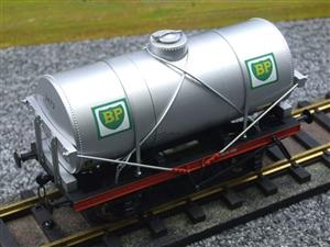 "Gauge 1 Model Co Accucraft R32-3C-14-Ton Oil """"BP Tanker Wagon"" R/N 3472 image 7"