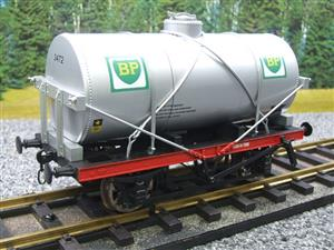 "Gauge 1 Model Co Accucraft R32-3C-14-Ton Oil """"BP Tanker Wagon"" R/N 3472 image 10"