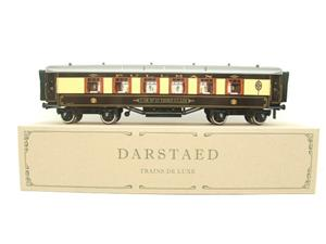"Darstaed O Gauge Parlour 3rd ""Car No 35 Third Class"" Grey Roof Pullman Coach Boxed image 1"